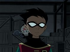 Robin and Red X- teen titans