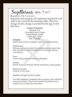 Sagittarius - by Tammy Lynn Sagittarius Girl, Zodiac Signs Sagittarius, Sagittarius And Capricorn, Astrology Zodiac, Saggitarius, Zodiac Society, Zodiac Quotes, Education Quotes, Humor