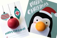 These EOS lip balm Christmas free printables make an easy, affordable and adorable gift idea for teachers, friends, or co-workers!