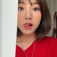 ulzzang girl girls woman women aesthetic korean japanese chinese beauty pretty beautiful lifestyle ethereal beauty girls east asian minimalistic grunge soft pastel light cute adorable 울짱 여자 r o s i e Ulzzang Short Hair, Asian Short Hair, Ulzzang Korean Girl, Girl Short Hair, Korean Beauty, Asian Beauty, Short Hair Makeup, Pretty Asian Girl, Aesthetic Women