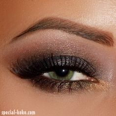 11. Not #Quite Nude - 37 Ingenious Eye Shadow #Looks for a Night out ... → #Makeup [ more at http://makeup.allwomenstalk.com ]  #Trend #Smoky #Dazzling #Shadow #Source