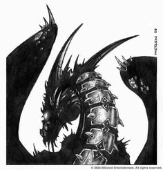 Take a ride on a dragon! Deathwing from World of Warcraft