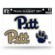 Pitt Panthers Team Magnet Set, Multicolor