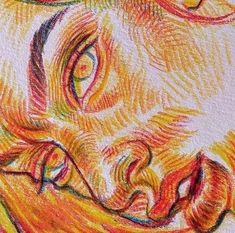 Lellow // giving old art new life - A Level Art Sketchbook - Pretty Art, Cute Art, Art Et Design, Posca Art, Arte Sketchbook, Funky Art, A Level Art, Sketchbook Inspiration, Sketchbook Ideas