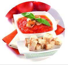 Ekmekli Domates Çorbası