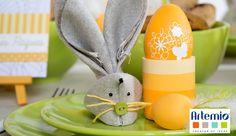 Easter felt bunny Easter egg spring decoration DIY idea