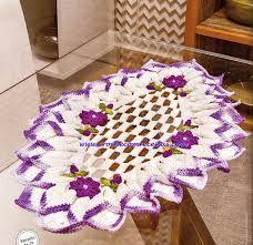 toalha de mesa em croche passo a passo - Pesquisa Google