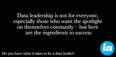 Do you have what it takes to be a data leader? http://www.information-age.com/it-management/skills-training-and-leadership/123460397/do-you-have-what-it-takes-be-data-leader … #data #data50
