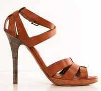 Shop for RALPH LAUREN HEELS on Shop Hers  Aha!  The heel is a little questionable for my gate!