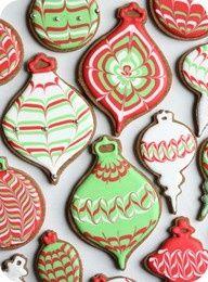 Ornament Christmas Cookies