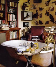 Because a bathroom should be furnished like every other room in the house.