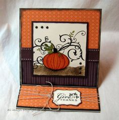 Give Thanks by Weekend Warrior - Cards and Paper Crafts at Splitcoaststampers
