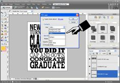 eighteen25: {Subway Art} Graduation + tutorial
