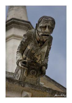 Curiosa gárgola de la catedral de Palencia  #CastillayLeon #Spain