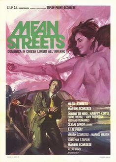 italian movie posters 1950s | mean streets italian movie poster ciriello