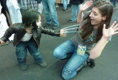 Omg a little Wolverine!