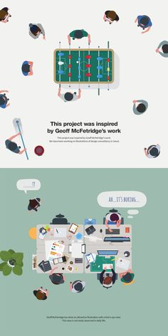 8hours in the office on Behance