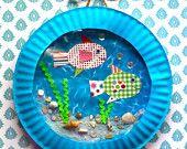 Fish Aquarium Craft Kit.