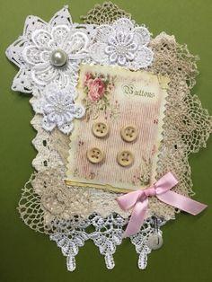 Shabby Chic Embellishments, Junk Journal, Art Journaling, Linens, Journals, Dolls, Vintage, Art Diary, Baby Dolls