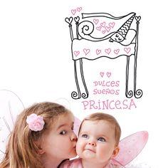 Dulces sueños princesa vinilo by Javirroyo