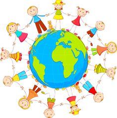 Çocuk Png Çizgi Resimler - Children Png Caricatures