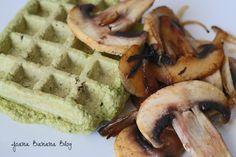 Clicks Alimentação + Marmitas + Blá Blá Blá   *Joana   Waffles  Spinach Waffles Waffles de Espinafres