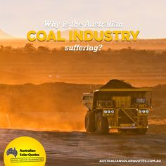Australia's #coal industry is suffering as prices of both coal and #oil drop to the lowest prices in decades. Find out what this means for our #economy  #RenewableEnergy #AusSolarQuotes #News