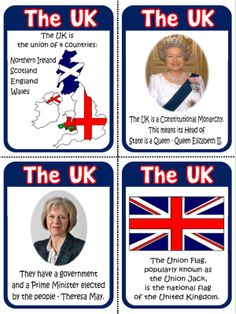 The United Kingdom - Flashcards