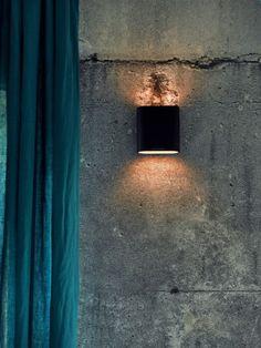 betonbehang voor strakke tienerkamer