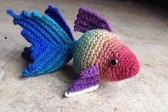 Crochet Amigurumi Goldfish Free Pattern
