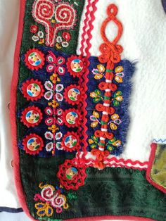 "A women's part of folklore costume called ""kordula"" Czech Republic, Folklore, Roots, German, Polish, Costumes, Deutsch, Vitreous Enamel, German Language"