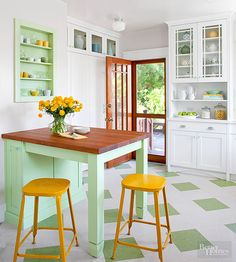 Homeowners are doing more than just remembering the happy days; they're recreating them in their kitchens with retro styles from the '40s, '50s, and '60s.