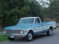 1971 Chevrolet 2500 C/K Pickup Front reminds me of my Dads old truck 72 Chevy Truck, C10 Trucks, Chevy C10, Chevrolet 2500, Chevrolet Trucks, Toyota Trucks, Hot Rod Pickup, Classic Pickup Trucks, Vintage Trucks