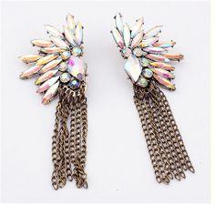 Bronze Tassel Earrings | Bling By Shauna