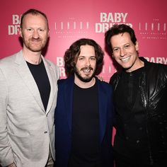 My London neighbour and very dear friend Mark Gatiss & the super handsome and very Welsh Mr Ioan Gruffudd.