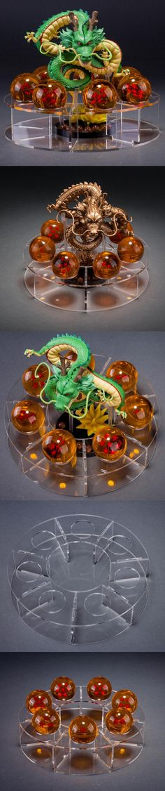 BDZ Dragon Ball 15CM Dragon 7pcs 3.5CM PVC Ball Action Figures Anime esferas del Brinquedos Toys Cool Gift Home Decoration $84.77