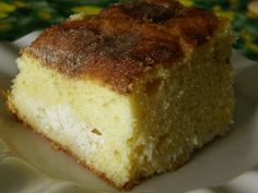 Ricotta Cake Recipe - Food.com. I think this is the cake Mom made (minus the cinnamon sugar). So moist and delicious!