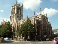 This was our church while we lived in England.  Lots of friends made.   Holy Trinity, Kingston Upon Hull, England