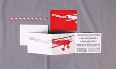 Airplane Wedding Invitation Set by Sparkvites on Etsy, $3.00