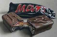 Drawing of a Mars Bar