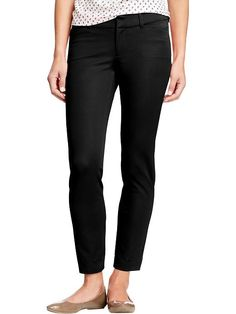 PIXIE PANTS!  These are a GREAT work pant!  Stretchy and comfy..and they come in regular, petite, and tall!  Lots of different solid colors and patterns for choices!