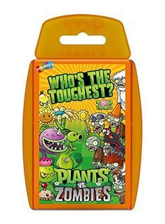 PVZ  Plants Vs Zombies  TOP TRUMPS  Official Top Trumps Cards *** Continue to the product at the image link.Note:It is affiliate link to Amazon.
