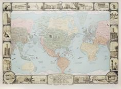 Sandow Birk And Elyse Pignolet A Conservative Map Of The World 2011 6