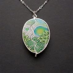 Image result for Polymer Clay Pendants