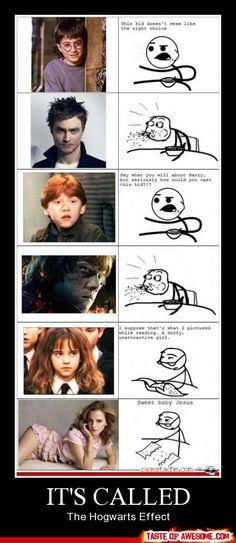 the Hogwarts effect