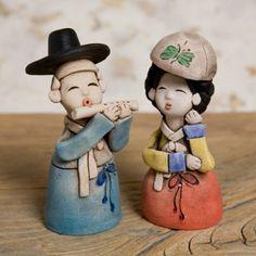 Korea clay art decoration