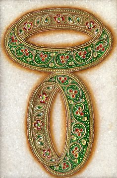 Bangles painted on marble...