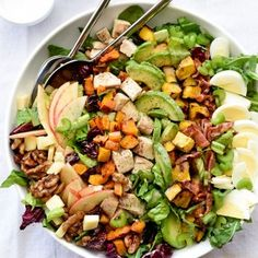 Permalink to: Autumn Cobb Salad