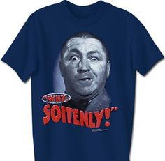 Three Stooges T-shirt Curly Why Soitenly Adult Funny Navy Tee Shirt Three Stooges T-shirts This Three Stooges T-shirt Curly Why Soitenly Adult Funny