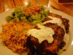 Mexican rice plate. So mouth-watering!